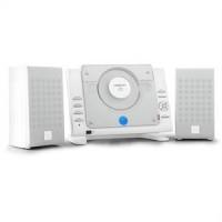 oneConcept Vertical 70, sztereó rendszer, CD, USB, MP3, AUX, fekete