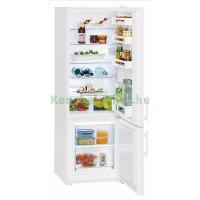 LIEBHERR CU2811 Szabadonálló Kombinált Hűtőszekrény
