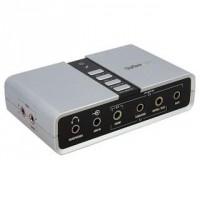 Startech ICUSBAUDIO7D 7.1 USB külső hangkártya