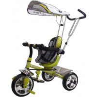 Sun Baby B-33 New szülőkormányos tricikli Green
