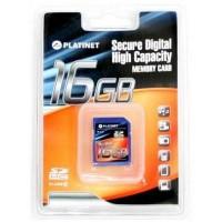 Platinet SDHC 16GB (class 6) memóriakártya