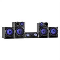 Malone Mega Sound zenei rendszer, Bluetooth, DVD, HDMI, FM, USB, AUX