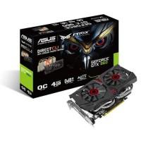 Asus GTX960 STRIX DirectCU II OC 4GB DDR5 videokártya (STRIX-GTX960-DC2OC-4GD5)