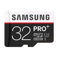 Samsung microSDHC 32GB (class 10) Pro+ memóriakártya+adapter (MB-MD32DA)