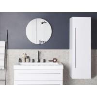 Fürdőszoba szekrény - Függesztett polc - Polcos szekrény - Fehér - MATARO
