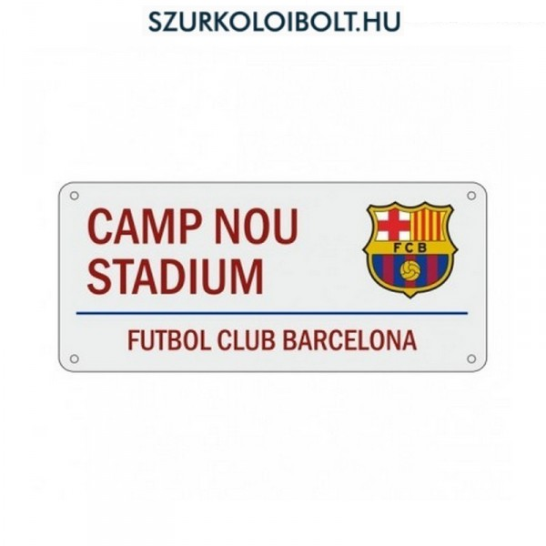 FC Barcelona utcanévtábla - eredeti 729a825289