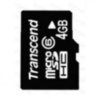 Transcend microSDHC 4GB (class 6) memóriakártya