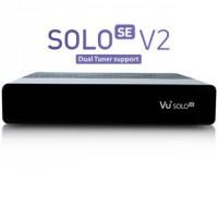 Marusys VU+ SOLO SE V2 beltéri egység (single DVB-T2/T/C tuner)