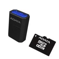 A-Data 16GB microSDHC (class 4) memóriakártya+USB olvasó