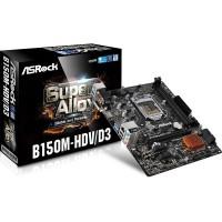 Asrock B150M-HDV/D3 alaplap