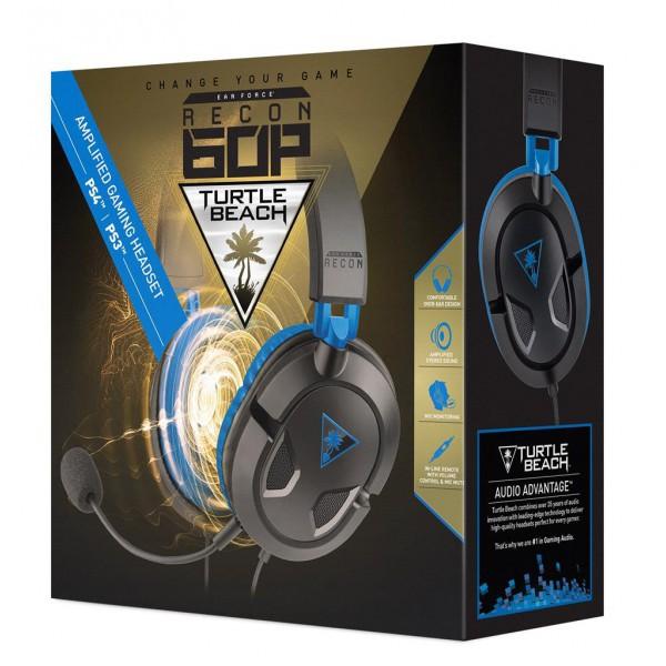 Turtle Beach Ear Force Recon 60P fejhallgató (PS3 PS4) 90d5659f4b