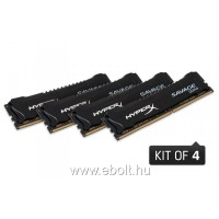 Kingston HyperX Savage 64GB (4x16GB) 2400MHz CL14 DDR4 memória (HX424C14SBK4/64)