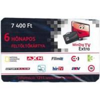 MinDig TV Extra Feltöltő Kártya 6 hónapos