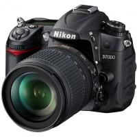Nikon D7000 digitális fényképezőgép kit (18-105mm VR objektívvel)