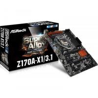 ASRock Z170A-X1/3.1 alaplap