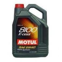 Motul 8100 X-cess 5W-40 5L motorolaj