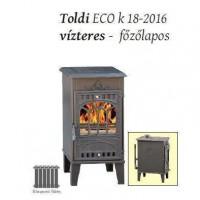 Toldi ECO K18-2016 vízteres főzőlapos kályha