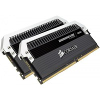 Corsair DOMINATOR® PLATINUM 16GB (2 x 8GB) DDR4 DRAM 3200MHz C16 Memory Kit (CMD16GX4M2B3200C16)