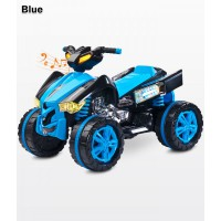 Toyz Raptor Blue elektromos Quad 12 Voltos 2 motoros hajtással, Ledes világítással