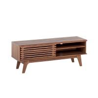 TV-állvány - TV szekrény - polcos szekrény - komód - barna - TOLEDO