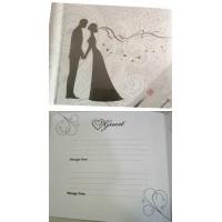 Esküvői vendégkönyv GUESTBOOK-Mr&Mrs