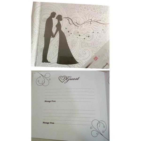 Esküvői vendégkönyv GUESTBOOK-Mr Mrs 3cdf49332c