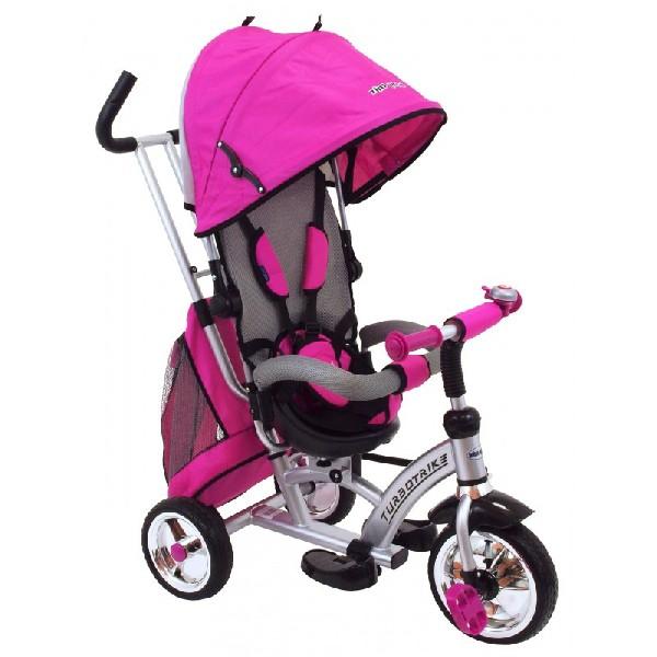 Turbo Trike szülőkormányos tricikli Pink Megfordítható extra üléssel 1e83ffb913