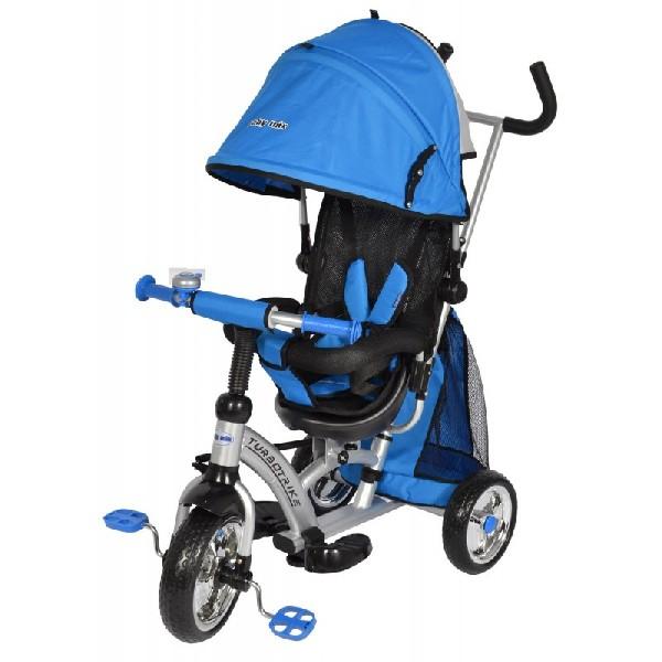 Turbo Trike szülőkormányos tricikli Blue Megfordítható extra üléssel 304d41d546