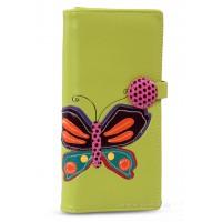 Női pénztárca lepke - zöld