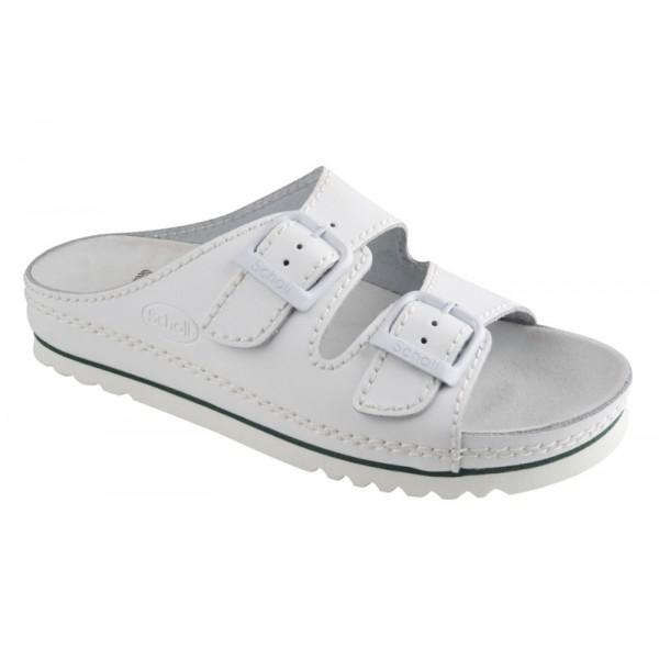 Scholl AIR BAG fehér papucs 6e604ab52e
