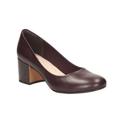Clarks BARLEY ROSE padlizsán cipő · » 560fdfd9f0