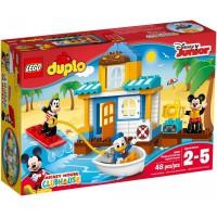 LEGO Duplo - Mickey és barátai tengerparti háza (10827)