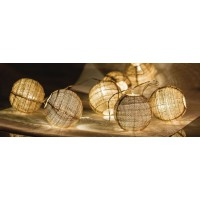 HQ Karácsonyi LED fényfüzér - gömb