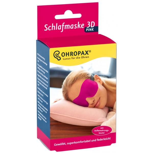 Ohropax 3D Comfort alvómaszk pink 1db 51dea406d8
