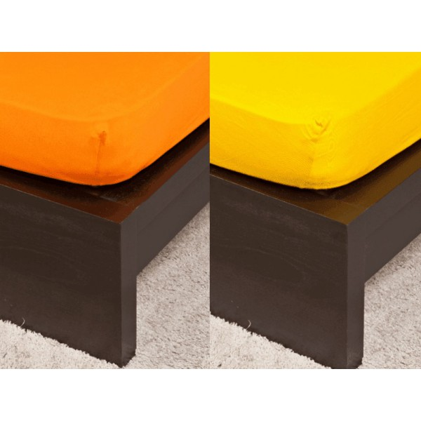Gyermek Jersey orange gumis lepedő 70x140 cm a700f3149b