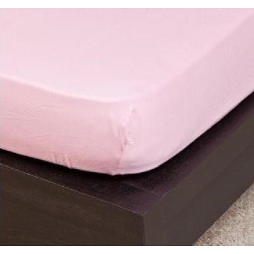 Pamut Jersey világos rózsaszínű gumis lepedő 100x200 cm 893c260539