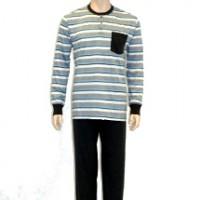 1673d5cc58 ONEWAY Oneway 2301 csíkos férfi pizsama | Olcso.hu