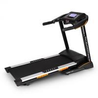 Capital Sports Pacemaker X30, futópad, profi házi edző, 3 lóerő, 22 km/h, pulzusmérő, fekete