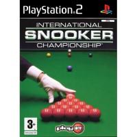Internatonal Snooker Championship - PS2