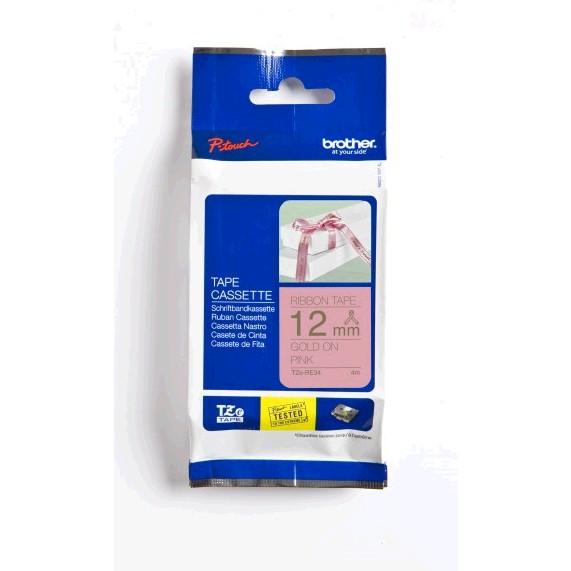 Brother P-touch TZe-RE34 szövetszalag (TZERE34) papír f899b51bd5