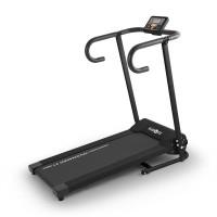KLARFIT Pacemaker X1 futópad, 10 km/h, tréning számítógép, fekete