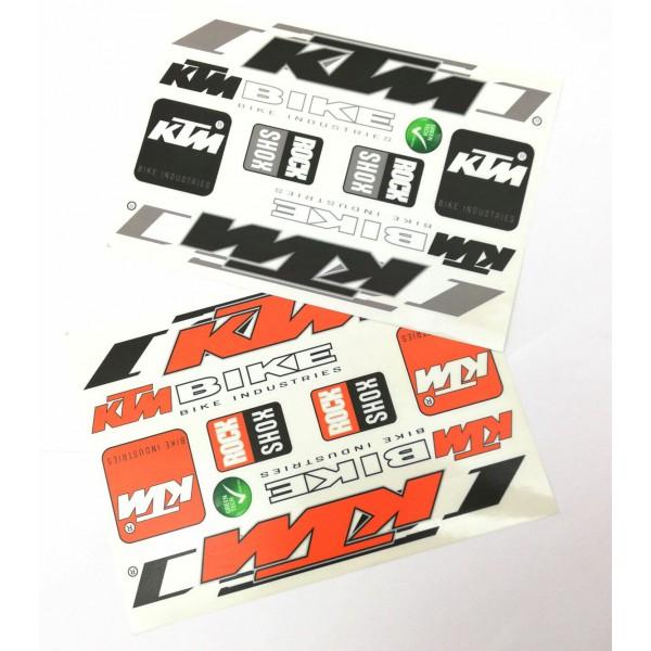 676124158e KTM matrica garnitúra műgyantás bevonattal 35x17cm három féle színben  nagyítás · olcso.hu > ...