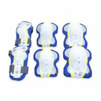 Spokey Sentinel gyerek védőfelszerelés szett, kék