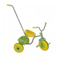 Fémvázas, szülőkaros tricikli
