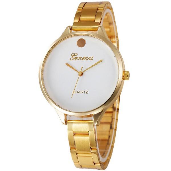 Luxury Look arany Geneva fémszíjas női karóra GE15017TR c87f704e48