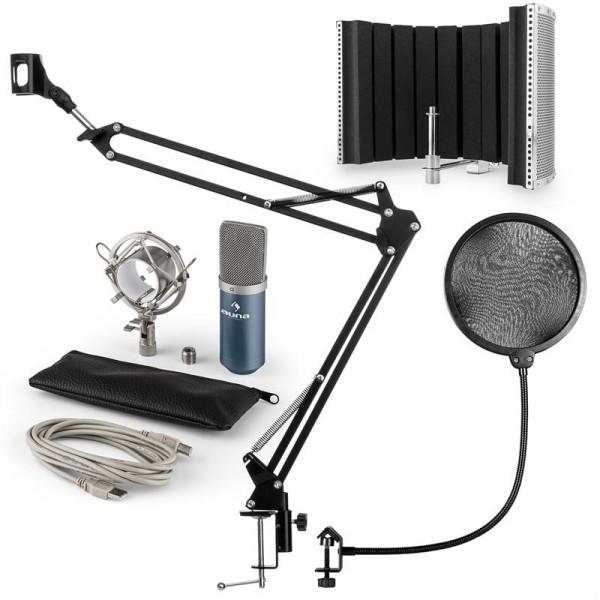 Auna auna MIC-900BL USB mikrofon szett V5 kondenzátoros mikrofon 77364e331c