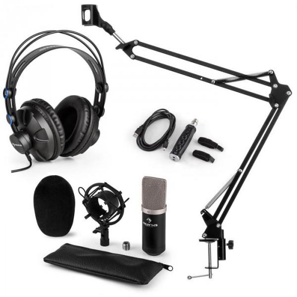 Auna auna CM003 mikrofon szett V3 kondenzátoros mikrofon f7ccb6d6c9