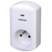 TKB Plug-in Dimmer - konnektor sötétedő modullal, White