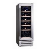 Dunavox DX-19.58SSK 19 palackos, kompresszoros beépíthető borhűtő