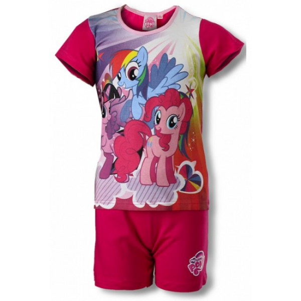 gyermek pizsama MY LITTLE PONY - sötét rózsaszín - méret  110 c1f19bb217